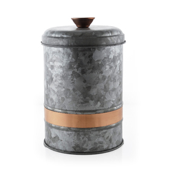 Thirstystone - Industrial Luxe Galvanized Canister Large