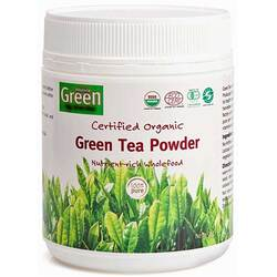 Absolute Green - Organic Green Matcha Tea Powder 150g Per Tub