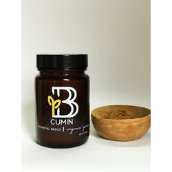Botanical Basics Organic Cumin Ground x 50gm jar