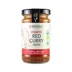 Mekhala Organic Thai Red Curry Paste Box 12 x 100gm jars