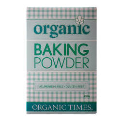 Organic Times Baking Powder 200 g