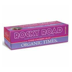 Organic Times Dark Rocky Road 15 x 60gm Bar
