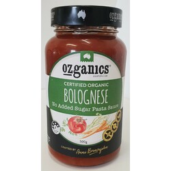 Ozganics - Spring Vegetable Simmer Sauce 375g Per Jar