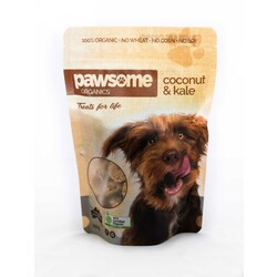 Pawsome Organics - Coconut & Kale Dog Treats 250gm