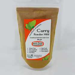 Pure Food Essentials - Curry Powder Mild 80g Per Packet