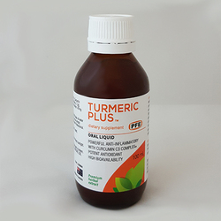 Pure Food Essentials - Turmeric Plus (Dietry Supplement) 100ml Per Bottle