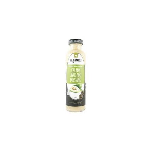 Ozganics - Creamy Avocado Dressing 350ml Per Bottle