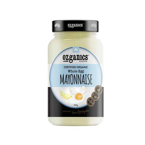 Ozganics - Pure Addiction Mayonaise 440g Per Bottle
