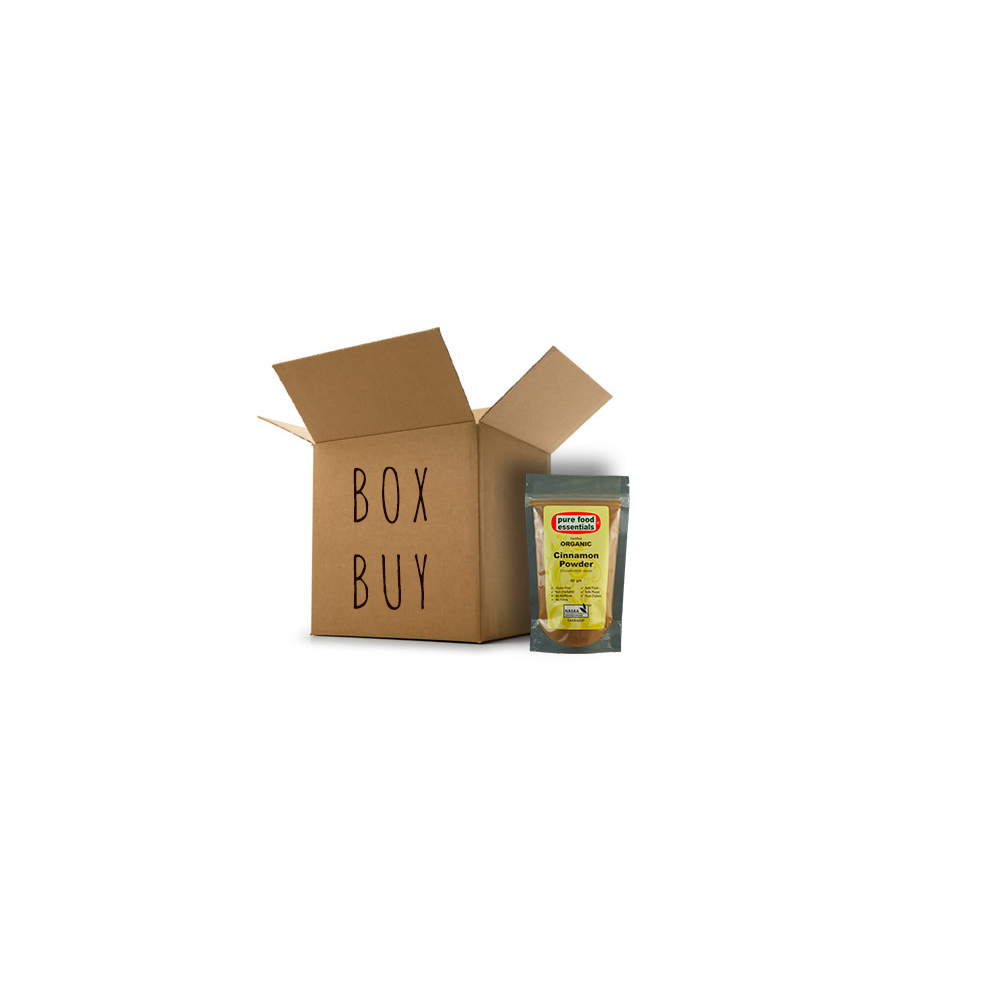 Pure Food Essentials - Cinnamon Powder 10 x 80g Per Box