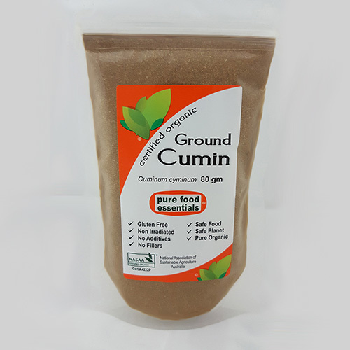 Pure Food Essentials - Cumin Powder 80g Per Packet