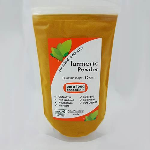 Pure Food Essentials - Turmeric Powder 80g Per Packet